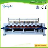 12 head flatbed cap embroidery machine