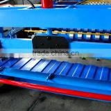 trapezoidal colored steel roof deck roll former,trapezoidal color steel roof deck roll forming machine