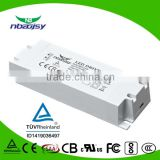 60W1500ma constant current led driver PF0.95 active PFC with 5years warranty