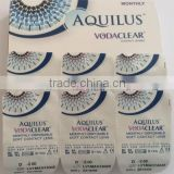 Monthly prescription clear lenses VODACLEAR 6 pcs/box power contact lens medical contact lens