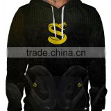 Customized High Quality Sublimation Snake Design Blank Hoodies/ Hoodies With Fully Customization/ 3d Hoods And Sweatshirts