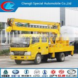 new condition diesel type 10m 12m 16m 6 wheels high altitude operation IVECO high up truck IVECO truck with boom lift