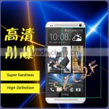 Preminum Touch Screen Tempered Glass Film For HTC One M7 Screen Protector