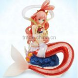 One Piece Mermaid Princess Sailing Again Shirahoshi POP 23cm Statue Figure Loose