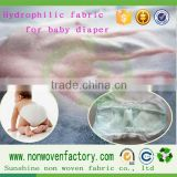 One of the top ten selling products hydrophilic non-woven, breathable and relaxed, like baby diapers
