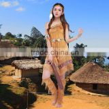 2016 new style sexy women Indian bulk aboriginal cosplay halloween party costumes ps-19015