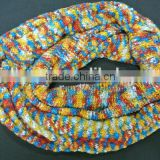 Muli-color Scarf and Beanie Set