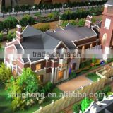 Villas Maquette miniature architectural scale model Making