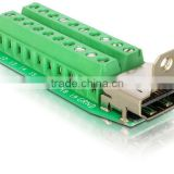 terminal blocks HDMI DVI DB D-Sub VGA USB male female connector