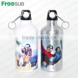 China Manufacturer Heat Resistant Sublimation Aluminium Sports Water Bottle