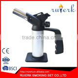EK-041 Butane Micro Torch Kitchen Gadget Flame Self Is Igniting Refillable Culinary Lighters