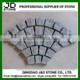 Natural split g654 interlocking cubes/ cheap cobblestone paver mats