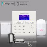 Factory price!39 wireless/wire zones WIFI/GPRS/GSM/SMS network alarm system 868 mhz wifi