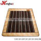 Far infrared negative ion mattress tourmaline infrared mat electric heated floor mattress