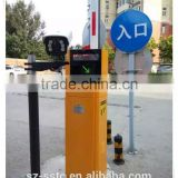 3-15mBluetooth card reader full automatic car Parking Lot System, with barrier gate and parking box