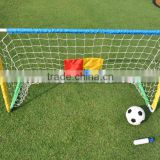 Easy-assemble mini Football / Soccer goal & net