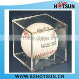Acrylic Bseball Display , Perspex Ball Case,Lucite Baseball Box