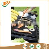 Custiomsize Super Non stick bbq grill mat black fiber glass fabric coated ptfe teflon for oven