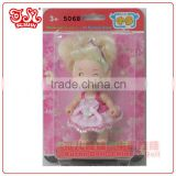 3.5 inch Chinese baby doll toy of lovely keychain products / child love dolls