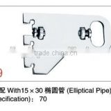 Hot dip galvanised strut channel with accessories pipe clamp/wall bracket