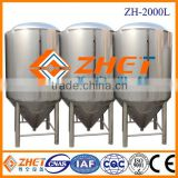 Hot sale matte polishing beer fermenter, industrial fermentor for sale ODM factory CE/ISO 9001:2008