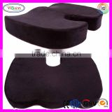 F016 Memory Foam Coccyx Office Chair Seat Cushion Superior Comfort Back Support Cushion for Office Chair
