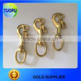 solid brass snap hook with key ring,brass big swivel snap hook,brass d ring brass snap hook