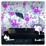 Waterproof PVC Glitter Vinyl 3d Wallpaper, Wall Paper