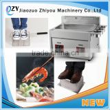 Commercial Kitchen 2 Tanks 2 Baskets Continuous Fryer Deep Frying Equipment Commercial Used Deep Fryer(whatsapp:008615039114052)