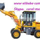 1000kg forestry mulcher machine small loader for industrial and farming and construction