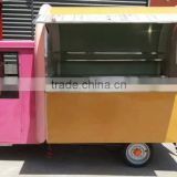 mobile fried ice cream food cart for sale