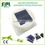 Solar vent 12 inch exhaust fan factory supply solar attic fan ventilator
