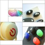 Rubber Button Carbon Pill,High Quality Silicone Keypad Buttons