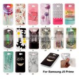 Fashion Ultra Transparent Soft With IMD Cartoon Pattern TPU Phone Case For Samsung J5 Prime