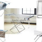ELECTRIC HEATED CLOTHES AIRER DRYER HORSE RACK INDOOR LAUNDRY FOLDING WASHING