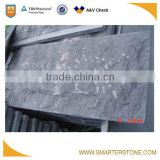 Black star G684 mushroom granite wall stone for classic villa