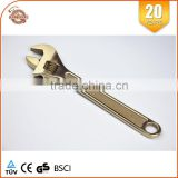 Explosion Proof Tools Aluminum Bronze Wrench 150mm Pipe Tools