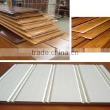 high quality interior wall building material red cedar wall panel finished with primed or painted