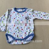$1 OEM quality customize newborn baby romper clothes in stock
