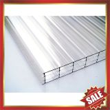 four layers polycarbonate panel,four wall PC panel,multiwall pc sheet,excellent temperature resistance !