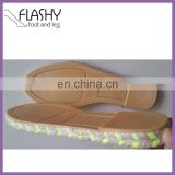 Wholesale shoes sole for espadrilles jute outsole shoe material 2016