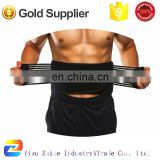 Stabilizing Lumbar Support Belt Back Brace with Dual Adjustable Straps and Breathable Mesh Panels