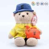 teddy bear plush toys with tie