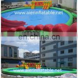 China New design aqua park, inflatable water park, water park equipment