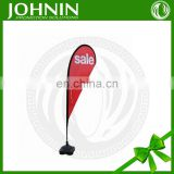 Outdoor Event Promotion Display Custom Size Teardrop Flag