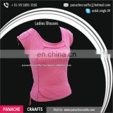 Ladies Office Blouse Tops Available at Best Price