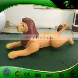 Custom Inflatable Cartoon Figure, PVC Inflatable Lion Model