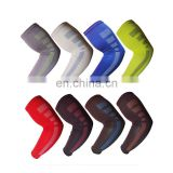 Wholesale High elastic compression gym arm support Nylon lengthened Armguards arm support#HZ0009