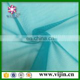 tricot knit spandex types of net fabric for garment lining material