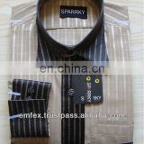 OEM Shirt gents full half sleeve quality dress shirts manufacturer, gents shirts exporter